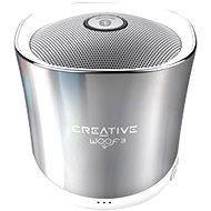 Creative Woof 3 Winter Chrome - Bluetooth-Lautsprecher