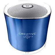 Creative Woof 3 Crystallite Blue - Bluetooth-Lautsprecher