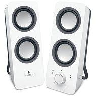 Logitech Multimedia-Lautsprecher Z200 Weiß - Lautsprecher