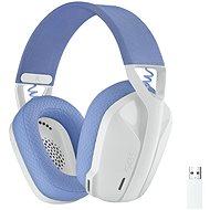 Logitech G435 LIGHTSPEED Wless Gaming Headset weiß - Gaming-Kopfhörer