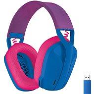 Logitech G435 LIGHTSPEED Wless Gaming Headset blau - Gaming-Kopfhörer