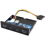 "I-TEC USB-C / USB 3.0 3,5"" Frontplatte für PC - Frontpanel"