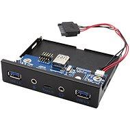 "I-TEC USB-C / USB 3.0 / Audio 3,5"" Frontplatte für PC - Frontpanel"