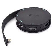 i-tec USB-C Pocket Dock 4K HDMI/VGA, Power Delivery - Port-Replikator