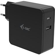TEC USB-C Ladegerät 60W + USB-A Port 12W - Netzladegerät