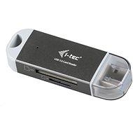 i-TEC USB 3.0 Dual Card reader - Kartenleser
