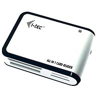 I-TEC USB 2.0 All-in One Kartenleser schwarz und weiß - Kartenleser