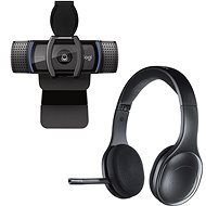 Logitech C920s HD Pro + Wireless Headset H800 - Webcam