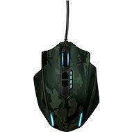 Trust GXT Gaming Mouse 155C - Grün-Tarnung - Maus