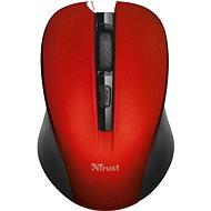 Trust Mydo Silent Click Wireless Maus - rot - Maus