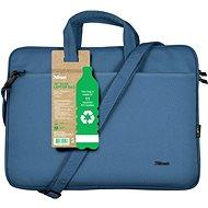 "Trust Bologna Laptop Bag 16"" ECO Notebooktasche - blau - Laptop-Tasche"
