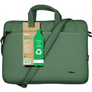 """Trust Bologna Laptop Bag 16"""" ECO Notebooktasche - grün - Laptop-Tasche"""