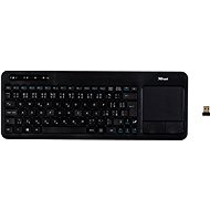 Trust Veza Wireless Touchpad Keyboard CZ+SK - Tastatur