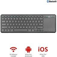 Trust Mida Wireless Bluetooth Tastatur mit XL Touchpad - Tastatur