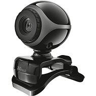 Trust Exis Webcam - schwarz und silber - Webcam