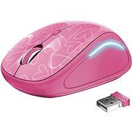 Trust Yvi FX Wireless Mouse - pink - Maus
