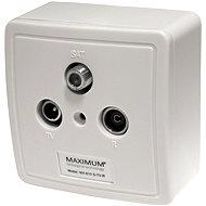 Maximum TV/R/SAT MX 610 Set - Steckdose
