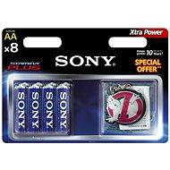 Sony Stamina Plus AA, 8 Stück - Akku
