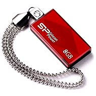 Silicon Power Touch 810 Red 8GB - USB Stick