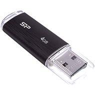 Silicon Power Ultima U02 Black 4GB - USB Stick