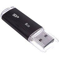 Silicon Power Ultima U02 Schwarz 8 GB - USB Stick