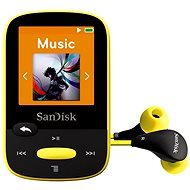 SanDisk Sansa Clip Sports 8GB gelb - MP3 Player