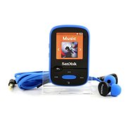 SanDisk Sansa Clip Sports 8 GB blau - MP3 Player