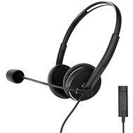 Energy Sistem Headset Office 2+ Black - Kopfhörer