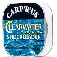 Carp´R´Us Clearwater Shock Leader 50lb 20m - Fluorocarbon