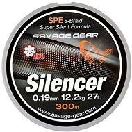 Savage Gear - HD8 Silencer Braid 0,09mm 10lbs 4,7kg 120m Zelená - Schnur