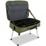 NGT Box Case Tackle Bag with Bivvy Table - Tisch