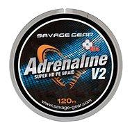 Savage Gear Šňůra HD4 Adrenaline V2 0,13mm 17lbs 7,8kg 120m Šedá - Schnur