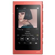Sony NW-A45R Walkman rot - FLAC Player