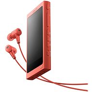Sony NW-A45HNR Walkman rot - FLAC Player