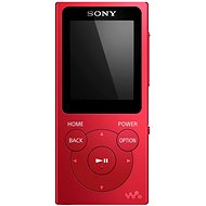Sony WALKMAN NW-E394R Rot - MP3 Player