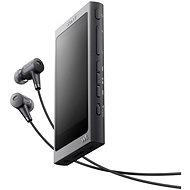 Sony Hi-Res WALKMAN NW-A35 Schwarz + Kopfhörer MDR-EX750 - MP3 Player