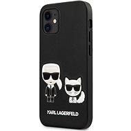 Karl Lagerfeld PU Karl & Choupette für Apple iPhone 12 Mini Black - Handyhülle