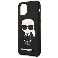 Karl Lagerfeld Iconic für iPhone 11 Pro Black - Handyhülle