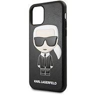 Karl Lagerfeld Geprägtes iPhone 11 Schwarz - Handyhülle