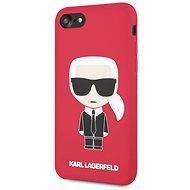 Karl Lagerfeld Full Body für iPhone 7/8 Rot - Handyhülle