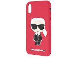 Karl Lagerfeld Full Body Iconic für das iPhone XR Red - Handyhülle