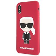 Karl Lagerfeld Iconic Bull Body für iPhone X / XS Red - Handyhülle