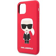 Karl Lagerfeld Iconic Body Cover für iPhone 11 Rot (EU Blister) - Handyhülle