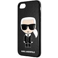 Karl Lagerfeld Full Body Iconic für iPhone 8 / SE 2020 Schwarz - Handyhülle