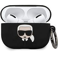 Karl Lagerfeld Silikonhülle für Airpod Pro Schwarz - Kopfhörerhülle