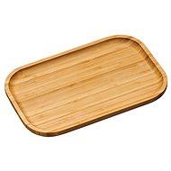 Kesper Serviertablett aus Bambus 30,5 cm x 20 cm - Tablett