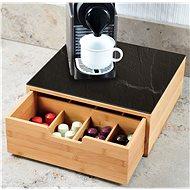 Kesper Box für Kaffeekapseln / Teebeutel, Bambus - Organiser