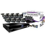 KGUARD Hybrid 8-Kanal-DVR-Recorder + 4 x Farb-Outdoor-Kamera - Kamerasystem