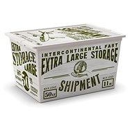 Aufbewahrungsbox KIS C-Box Holz XL 50 Liter auf Rädern - Aufbewahrungsbox