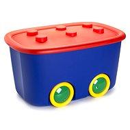 KIS Funny box L rot/blau 46l - Aufbewahrungsbox